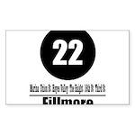 22 Fillmore (Classic) Rectangle Sticker