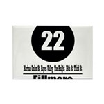 22 Fillmore (Classic) Rectangle Magnet (100 pack)