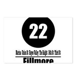 22 Fillmore (Classic) Postcards (Package of 8)