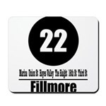 22 Fillmore (Classic) Mousepad
