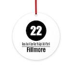 22 Fillmore (Classic) Ornament (Round)