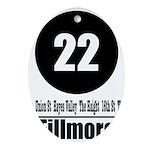 22 Fillmore (Classic) Oval Ornament