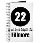 22 Fillmore (Classic) Journal