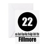 22 Fillmore (Classic) Greeting Cards (Pk of 10)