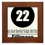 22 Fillmore (Classic) Framed Tile
