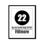 22 Fillmore (Classic) Framed Panel Print