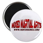 """FightersCircle.com"" MMA 2.25"" Magnet (100 pack)"