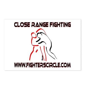 """""""FightersCircle.com"""" Postcards (Package of 8)"""