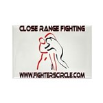 """FightersCircle.com"" Rectangle Magnet (10 pack)"