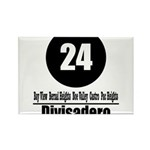 24 Divisadero (Classic) Rectangle Magnet (100 pack