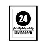 24 Divisadero (Classic) Framed Panel Print