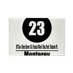 23 Monterrey (Classic) Rectangle Magnet (100 pack)