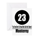23 Monterrey (Classic) Greeting Cards (Pk of 10)