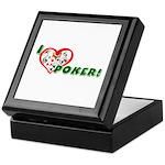 Poker Keepsake Box