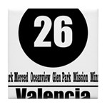 26 Valencia (Classic) Tile Coaster