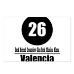 26 Valencia (Classic) Postcards (Package of 8)