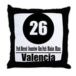 26 Valencia (Classic) Throw Pillow