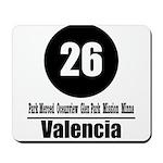 26 Valencia (Classic) Mousepad