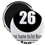 26 Valencia (Classic) Magnet