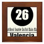 26 Valencia (Classic) Framed Tile