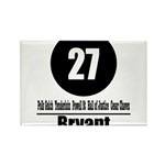 27 Bryant (Classic) Rectangle Magnet (10 pack)