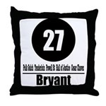 27 Bryant (Classic) Throw Pillow