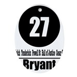 27 Bryant (Classic) Oval Ornament