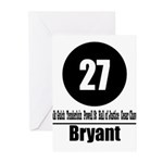 27 Bryant (Classic) Greeting Cards (Pk of 10)