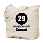 29 Sunset (Classic) Tote Bag