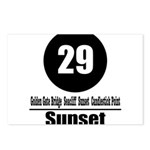 29 Sunset (Classic) Postcards (Package of 8)