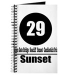 29 Sunset (Classic) Journal