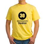 30 Stockton (Classic) Yellow T-Shirt