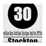 30 Stockton (Classic) Tile Coaster
