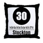 30 Stockton (Classic) Throw Pillow