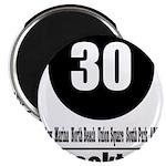 30 Stockton (Classic) Magnet