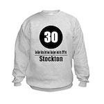 30 Stockton (Classic) Kids Sweatshirt