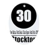 30 Stockton (Classic) Oval Ornament