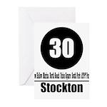 30 Stockton (Classic) Greeting Cards (Pk of 10)