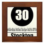 30 Stockton (Classic) Framed Tile