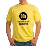 30x Marina Express (Classic) Yellow T-Shirt