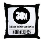 30x Marina Express (Classic) Throw Pillow