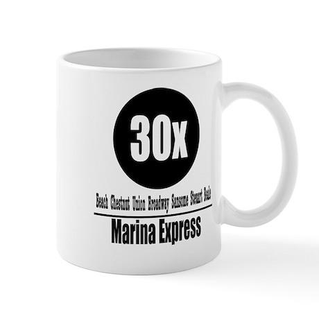 30x Marina Express (Classic) Mug