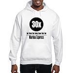 30x Marina Express (Classic) Hooded Sweatshirt