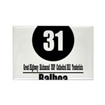 31 Balboa (Classic) Rectangle Magnet (100 pack)