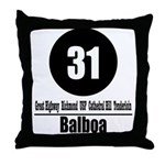 31 Balboa (Classic) Throw Pillow