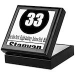 33 Stanyan (Classic) Keepsake Box