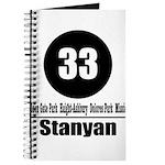 33 Stanyan (Classic) Journal