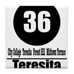 36 Teresita (Classic) Tile Coaster