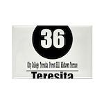 36 Teresita (Classic) Rectangle Magnet (100 pack)