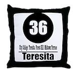 36 Teresita (Classic) Throw Pillow